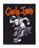 Circle Jerks textile printed patch sew on battle jacket diy rock hardcore punk