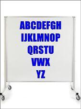 5cm Bold ROYAL BLUE Sticky Self adhesive Vinyl Sticker Alphabet Set 26 letters