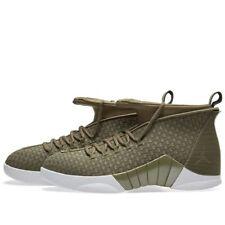 Nike Air Jordan 15 XV Retro PSNY Woven Olive Green Size 9. ao2568-200