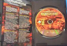Mission Barbarossa PC( 2005 CDV) Case, Disc                             2-4