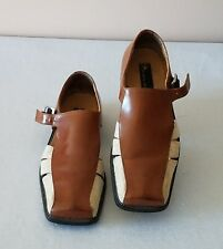 Stacy Adams Leather Fisherman Brown Sand Tan Men's Size 8M Casual Sandals Shoes