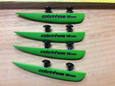 Four Cabrinha 15mm Twintip Fins and bolts - New