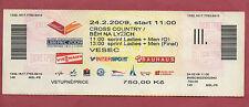 Orig.Ticket  Nordische SKI WM LIBEREC 2009 - Sprint FINALE Männer + Frauen ! TOP