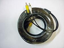 30 meter A/V Cable including 12v DC. Phono / RCA