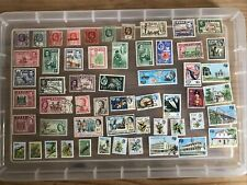 Fiji stamps unchecked collection