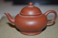 (Rare) Chinese Antique 19th Century Zisha  Teapot and Three Stamp