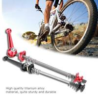 Quick Release Axle Bicycle Front and Rear Skewer Set MTB Road Bike Skewers New