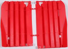 POLISPORT RADIATOR LOUVERS (RED) Fits: Honda CRF250R