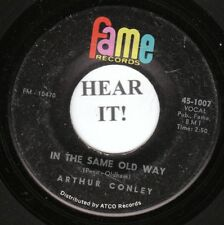 Arthur Conley DEEP SOUL 45 (Fame 1007) In The Same Old Way /I Can't Stop