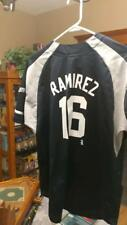 PRE-OWNED MLB MILWAUKEE BREWERS ARAMIS RAMIREZ #16 ADIDAS JERSEY YOUTH SIZE L