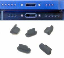 5x tappo Lightning antipolvere gomma iPhone 6 7 8 X XR XS 11 SE 12 PRO MINI MAX