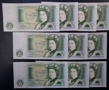 UNCIRCULATED 1978-1983 BANK OF ENGLAND ONE POUND £1 NOTE CRISP 100% GENUINE