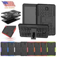 """For Samsung Galaxy Tab A 8"""" 8.0 SM-T387 2018 Hybrid Protective Case Rugged Cover"""
