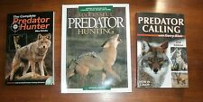 3 books: Predator Calling / Complete Pred Hunter / Successful Pred Hunting