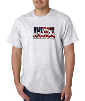 USA Made Bayside T-shirt Patriotic America USA
