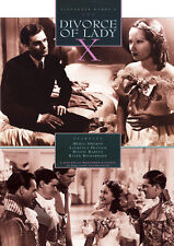 THE DIVORCE OF LADY X (1938) DVD Laurence Olivier & Merle Oberon