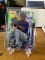 2020 topps Chrome  ALBERT ALZOLAY Refractor Parallel  #110  CUBS