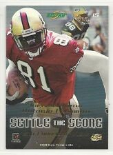1999 Score Football - Settle the Score - #15 - Terrell Owens vs. Antonio Freeman