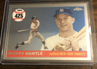 2008 Topps Chrome Mickey Mantle MHRC425