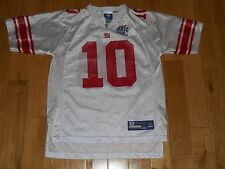 Reebok ELI MANNING NEW YORK GIANTS Super Bowl 42 Youth NFL Team Replica  JERSEY L a156fabf5