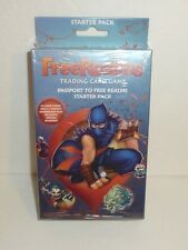 Free Realms Trading Card Game Starter Pack - New and Sealed!  FreeRealms TCG CCG