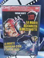 LA MORTE ACCAREZZA A MEZZANOTTE + CAMMINA CON I TACCHI ALTI 2 DVD LUCIANO ERCOLI