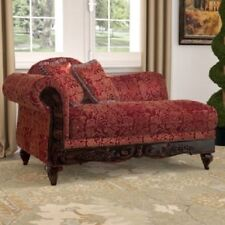 Fainting Couch Chaise Adult Reading Chair Victorian Style Sofa French Provincial