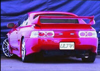 Toyota MR2 Coupe (1990-1999) Clear Lens Chrome Rear Back Tail Lexus Lights Lamps
