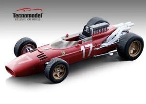 1:18 scale Tecnomodel Mythos Ferrari 312 F1 Car J Surtees Monaco Ltd Ed of 205