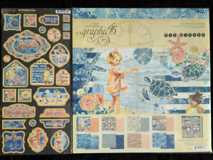 Graphic 45 Sunkissed Collection Pack & Chipboard