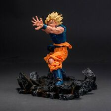 Dragonball 18*16*5CM Battle Resin Base For Goku Kamehameha Vegeta Gohan Statue