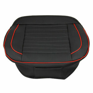 Universal Car Front Seat Cushions Cover Car Leather Cushion Booster Seat Pad Mat