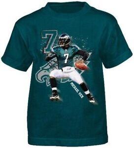 Michael Vick Philadelphia Eagles Youth Player Action T-Shirt