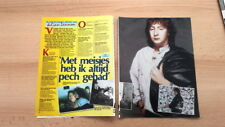 JULIAN LENNON 'white shirt' ARTICLE / clipping from Joepie magazine (Belgium)