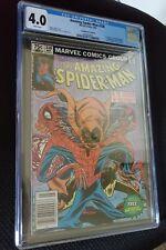 Amazing Spider-man 238 with tattooz CGC Key Issue Canadian Price Variant