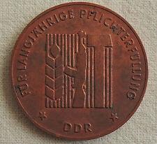 DDR Medaille - Rohling - Für langjährige Pflichterfüllung