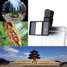 Universal 3D Mini Photograph Stereoscopic Camera Lens for Cell Phone Tablet LJ
