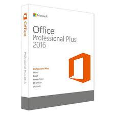 Microsoft Office 2016 Professional Plus Original Vollversion Pro 32/64 Bit