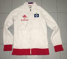 Rabatt adidas Hamburger SV Anthem Jacke Schwarz Weiß Blau