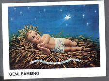 832 Gesù Bambino  Santino Holycard