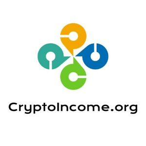 CryptoIncome.org Premium Crypto Income Brand Coin Currency Business Domain Name