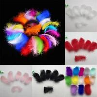 100 pcs Feathers Marabou Sewing Craft Wedding Home Party Decorationss