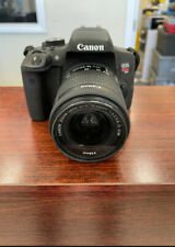 Canon EOS Rebel T6i with 18-55mm Lens, Charger