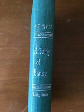 A THING OF BEAUTY BY A.J. CRONIN - 1956 - VINTAGE