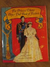THE PRINCESS DIANA PAPER DOLL BOOK OF FASHION (1982)