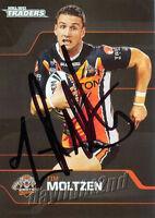 ✺Signed✺ 2013 WESTS TIGERS NRL Card TIM MOLTZEN