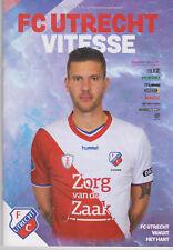 Programma / Programme FC Utrecht v Vitesse Arnhem 14-04-2019
