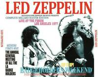 Led Zeppelin Badgeholders Weekend Live At The Forum Los Angeles 1977 CD 3 Discs