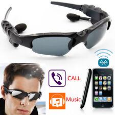 New Car Driving Sports Polarized Sunglasses W/ Smart Wireless Bluetooth Earphone