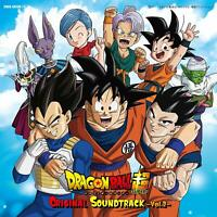 Dragon Ball super Original Soundtrack Vol.2 OST JAPAN OFFICIAL IMPORT